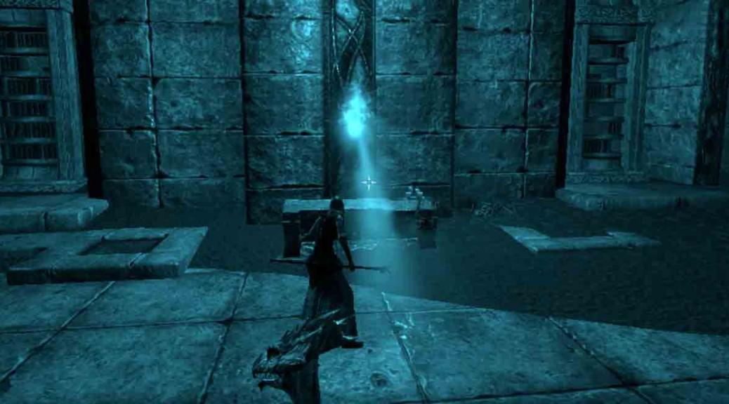 The Elder Scrolls Online Mallari Mora quest-entering atherial gateway