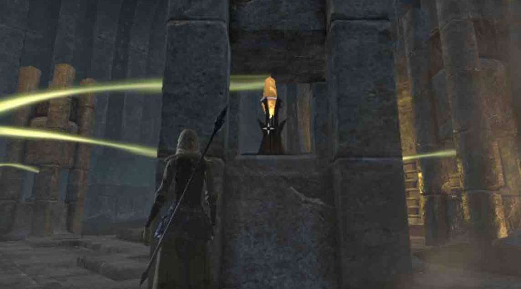 The Elder Scrolls Online objective deactivate the lock crystal in the veil falls.