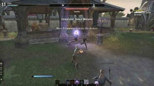 The Elder Scrolls Online Defeat Melanie for quest The Unveiling