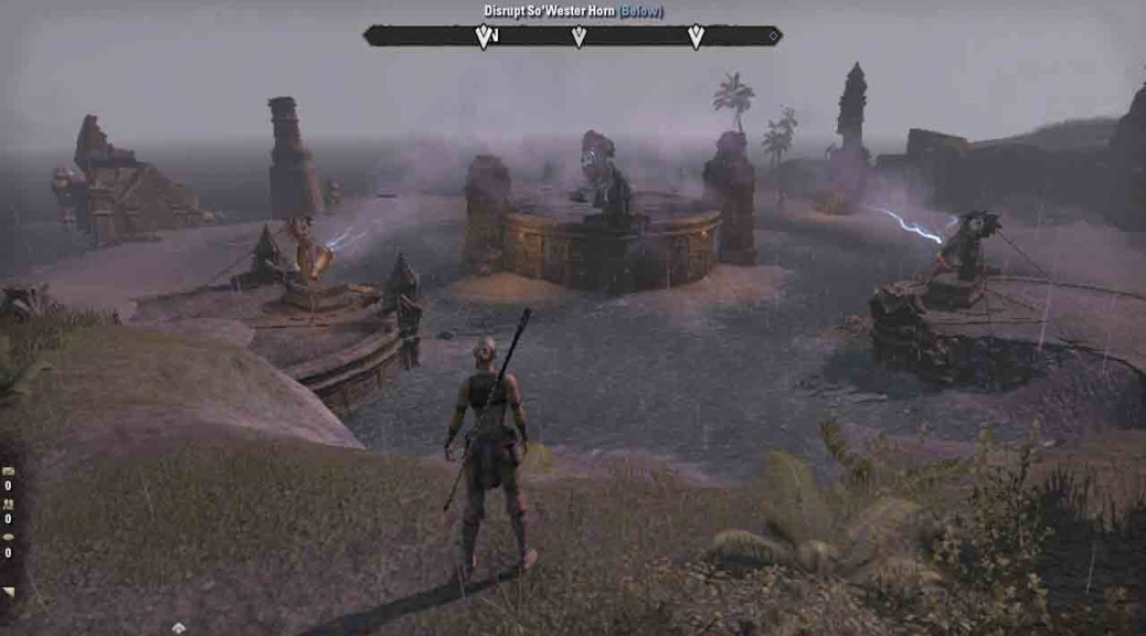 The Elder Scrolls Online quest The Tempest Unleashed