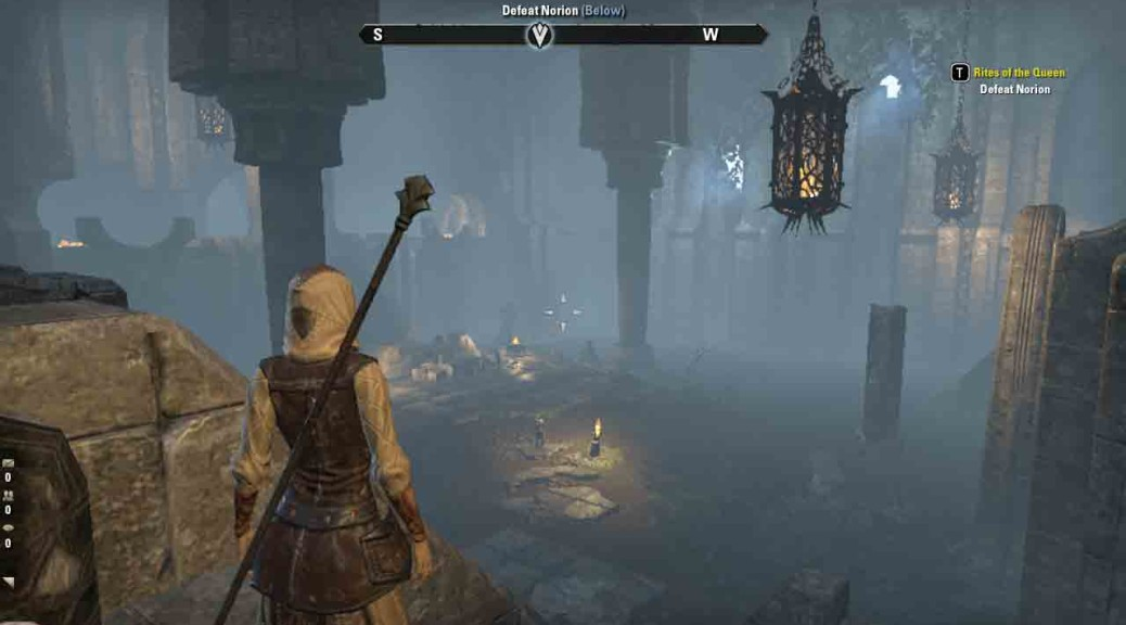The Elder Scrolls Online Rites of the Queen Enter Ancestral Chamber