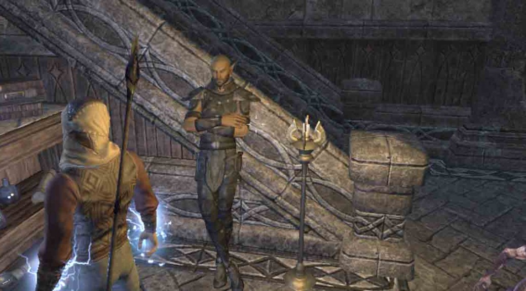 The Elder Scrolls Online quest Lifting the Veil