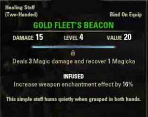 Image of quest reward Goldfleet's Beacon.