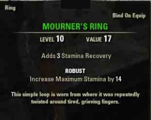 TESO Spirited Away reward Mourners Ring