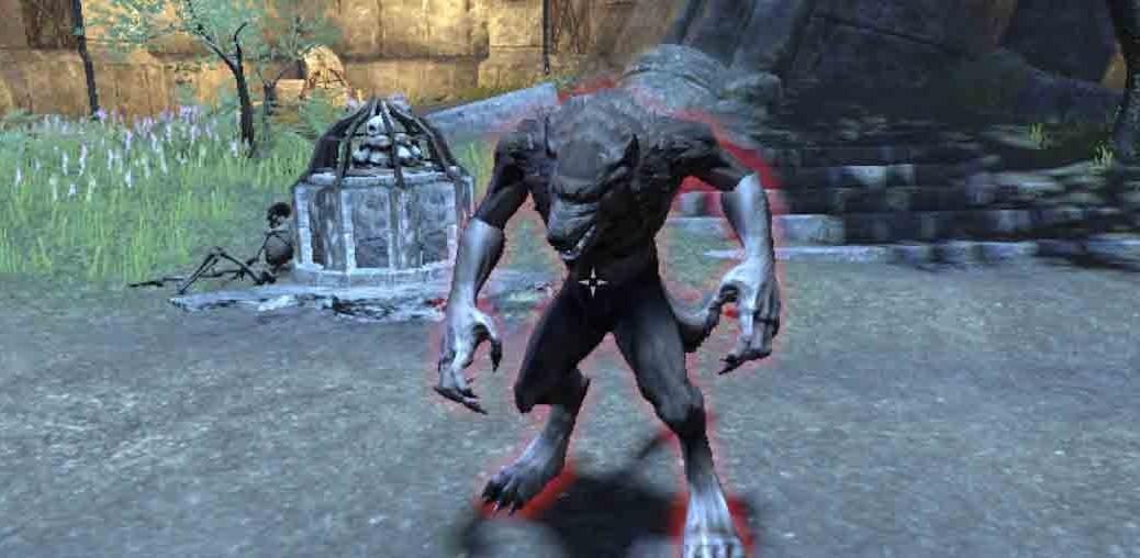 The Elder Scrolls Online Rightful Inheritance warewolf