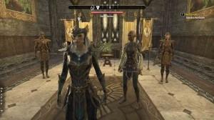 The Elder Scrolls Online High Elf Queen in The Veil Falls