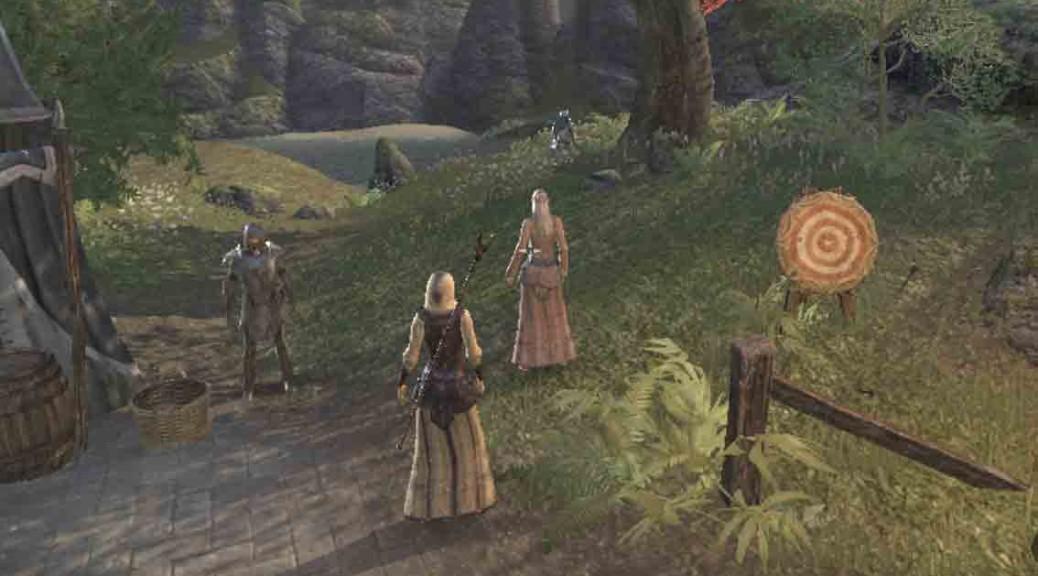 The Elder Scrolls quest Repentant Son talk to Iriel