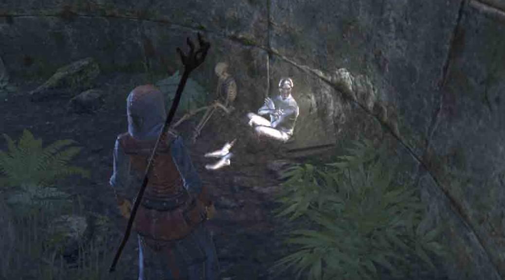 The elder Scrolls Online quest start The Jesters Joke