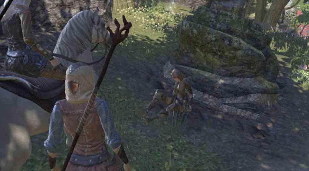 The Elder Scrolls Online quest The Wayward Dagger