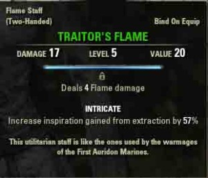 TESO Teldur's End reward Traitor's Flame