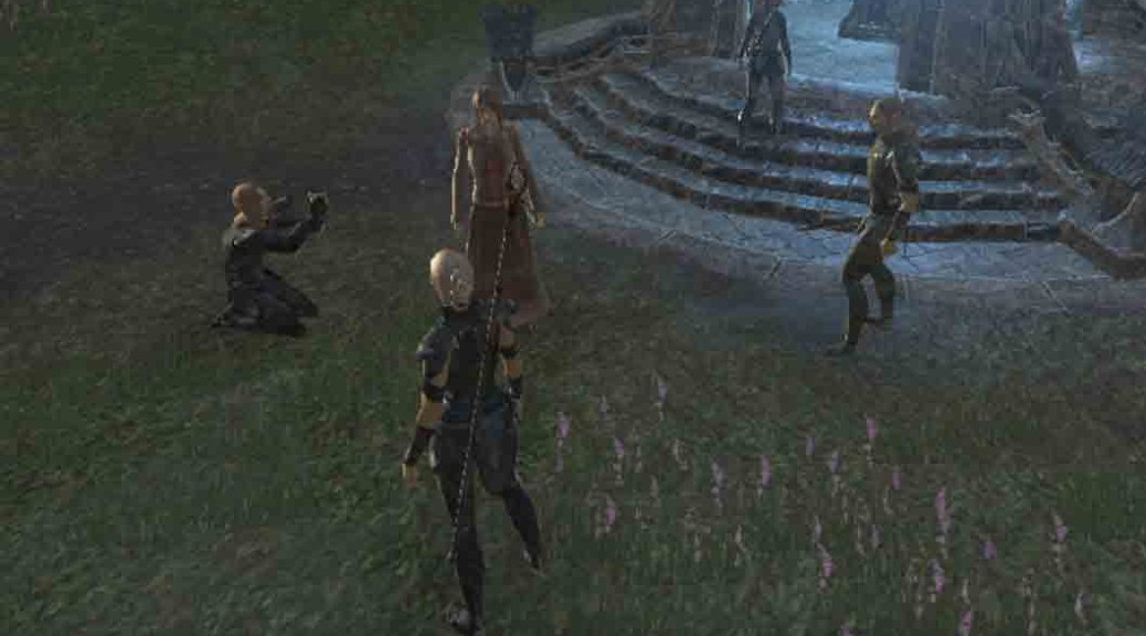 The Elder Scrolls Online Veiled Choice objective Witness the Reunion