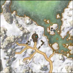 Elder Scrolls Online Bleakrock Treasure Map II Location