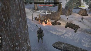 The Elder Scrolls Online At Frosts Edge objective burn supplies