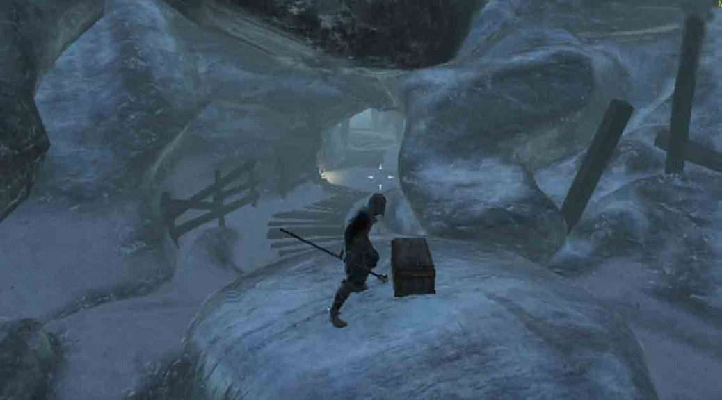 The Elder Scrolls Frozen Man quest clue