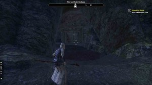 The Elder Scrolls Online Through the Ashes Find and Enter Cave