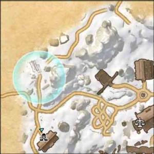 The Elder Scrolls Online Lost on Bleakrock quest map view