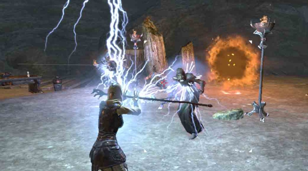 The Elder Scrolls Online Through the ashes quest-stopping the ritual